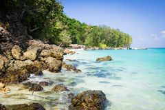 Bamboo Island is one other island in the Andaman Sea near phi-ph Stock Photos