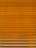 Bamboo jalousie Stock Image