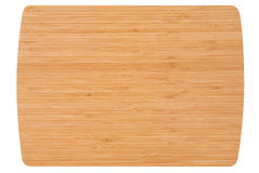 Bamboo kitchen board Royalty Free Stock Photo