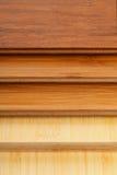 Bamboo laminate flooring close up Royalty Free Stock Photo