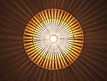 Bamboo lamp Stock Photo
