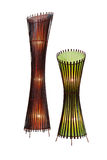 Bamboo lampshade Royalty Free Stock Photography