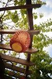 Bamboo lanterns landscape Stock Photos