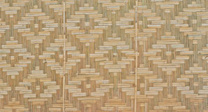 Bamboo lattice wall Stock Photos