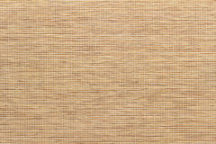 Bamboo leaf. Fabric texture bamboo weaving fine fibers in a cage Stock Photography
