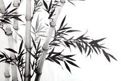 Bamboo leaf royalty free illustration