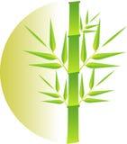 Bamboo logo Royalty Free Stock Photography