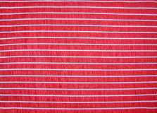 Bamboo maroon  mat. Light bamboo maroon straw mat connected by threads Stock Photography