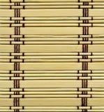 Bamboo mat. Close up of bamboo mat background Royalty Free Stock Photo