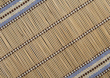 Bamboo mat. Background series 1 Stock Photography