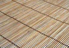 Bamboo mat. Background series 3 Stock Photos