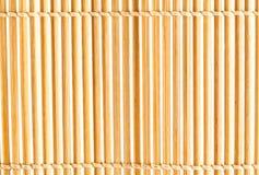 Bamboo mat Royalty Free Stock Photo