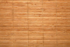 Bamboo-mat royalty free stock photos