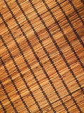 Bamboo mat. May be used as background or texture royalty free stock photo