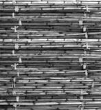 Bamboo mat. Mat made from twigs of bamboo Royalty Free Stock Images