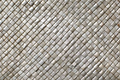 Bamboo mat. Mat made from twigs of bamboo Stock Image