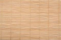 Bamboo mat. Stock Image