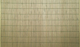 Bamboo mat as abstract background Stock Image