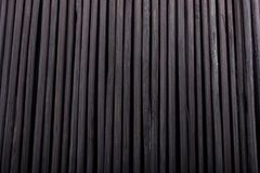 Bamboo mat as straw abstract texture Stock Photo