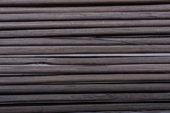 Bamboo mat as straw abstract texture. Pattern royalty free stock photos