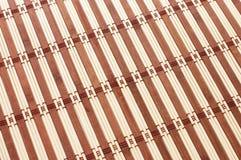 Bamboo mat background Royalty Free Stock Image