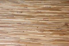 Bamboo mat , background Stock Image