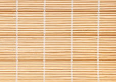 Bamboo mat background Stock Images