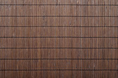 Bamboo mat background Stock Photos