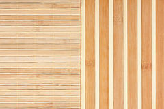 Bamboo mat background. Royalty Free Stock Photography
