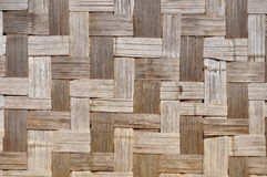 Bamboo mat background. Weathered bamboo mat texture. This type of bamboo mats are sometimes used as walls in tropical countries royalty free stock photos