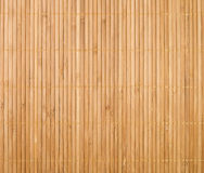 Bamboo mat background Stock Image