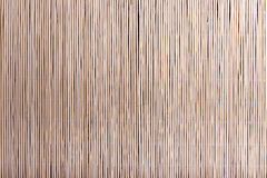 Bamboo mat background Royalty Free Stock Photos