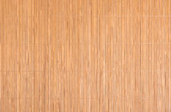 Bamboo mat. Royalty Free Stock Photo