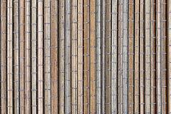 Bamboo mat, a background Stock Photos