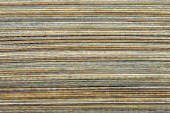 Bamboo mat, a background Stock Photo
