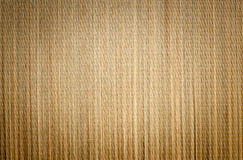 Bamboo Mat Background with Vignette Royalty Free Stock Images
