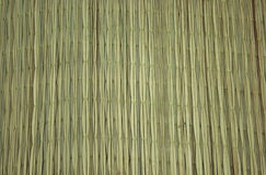 Bamboo mat Royalty Free Stock Images