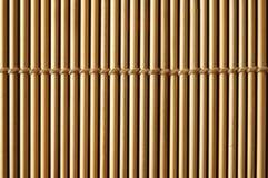 Bamboo mat close up Royalty Free Stock Image