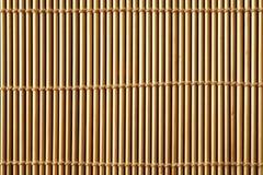 Bamboo mat close up Royalty Free Stock Photography