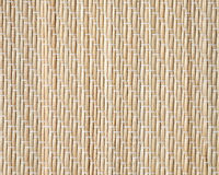 Bamboo mat, closeup detailed background texture Royalty Free Stock Photos