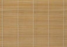 Bamboo mat Royalty Free Stock Image
