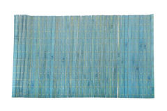 Bamboo mat macro Stock Image