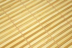 Bamboo mat. Macro foto texture Royalty Free Stock Images