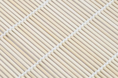 Bamboo mat for making sushi Stock Images