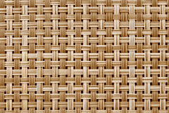 Bamboo mat pattern Royalty Free Stock Photography