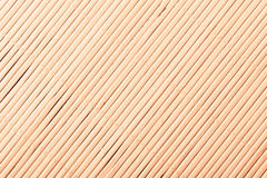 Bamboo mat surface pattern diagonal background texture Royalty Free Stock Image