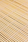 Bamboo mat for sushi Stock Photography