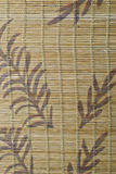 A  bamboo mat texture. Stock Photos