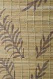 A  bamboo mat texture. Stock Photos