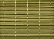 Bamboo mat texture Royalty Free Stock Photos